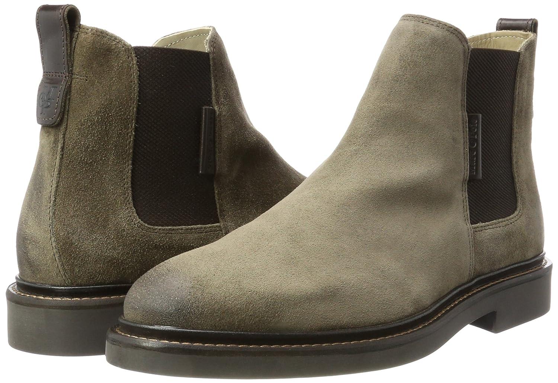 Marc O'Polo Herren Boots Flat Heel 70824105001304 Chelsea Boots Herren Braun (Taupe) b60f05