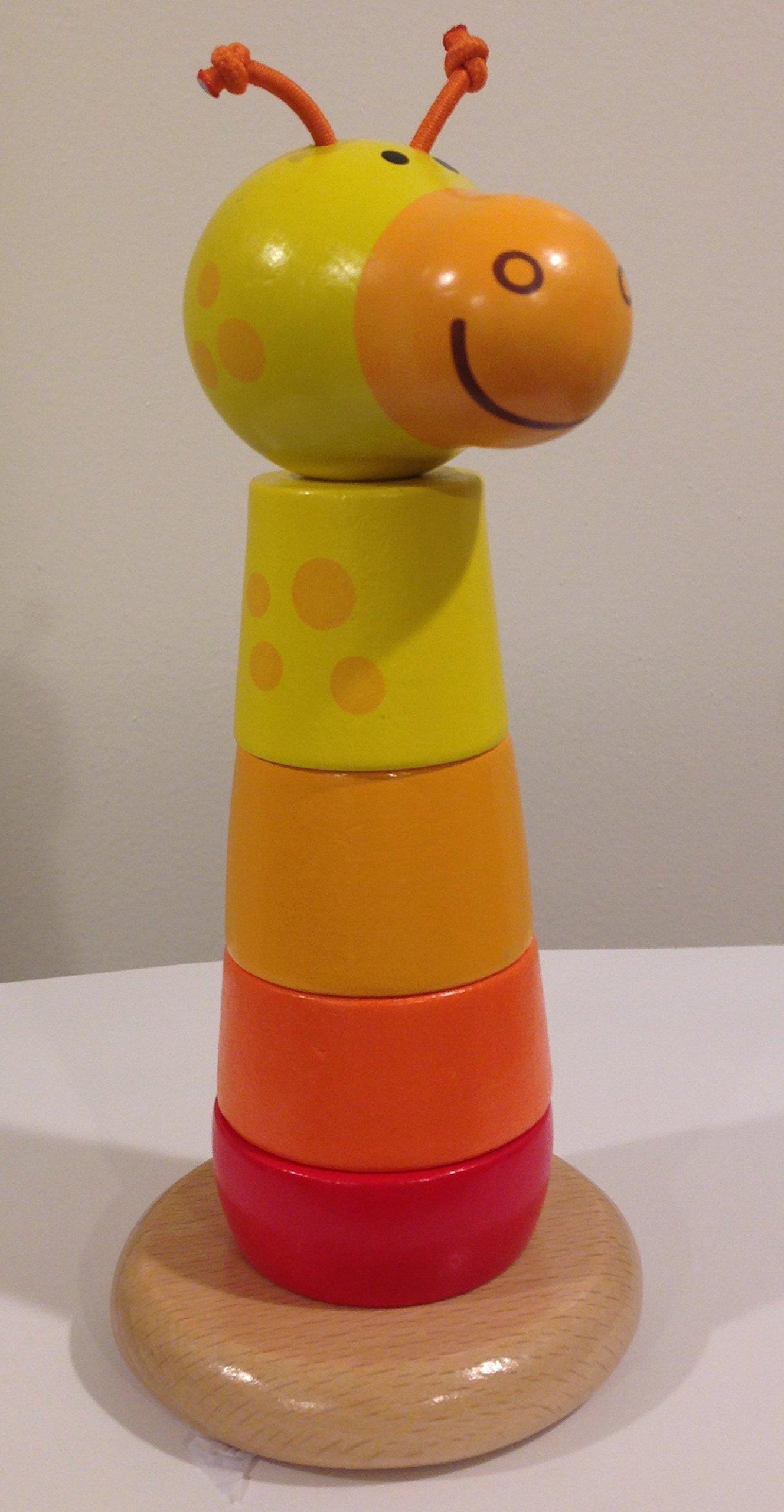 Hape Giraffe Stacker Baby Toy