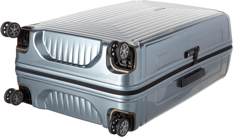 Samsonite Neopulse Hardside Luggage with Spinner Wheels Metallic Silver