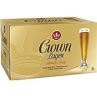 Crown Lager Beer Case 24 x 375mL Bottles