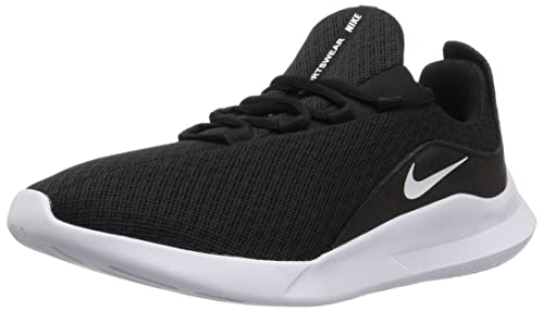 Amazon.com | Nike Womens Viale Running Shoe, Black/White, 10.5 Regular US | Road Running