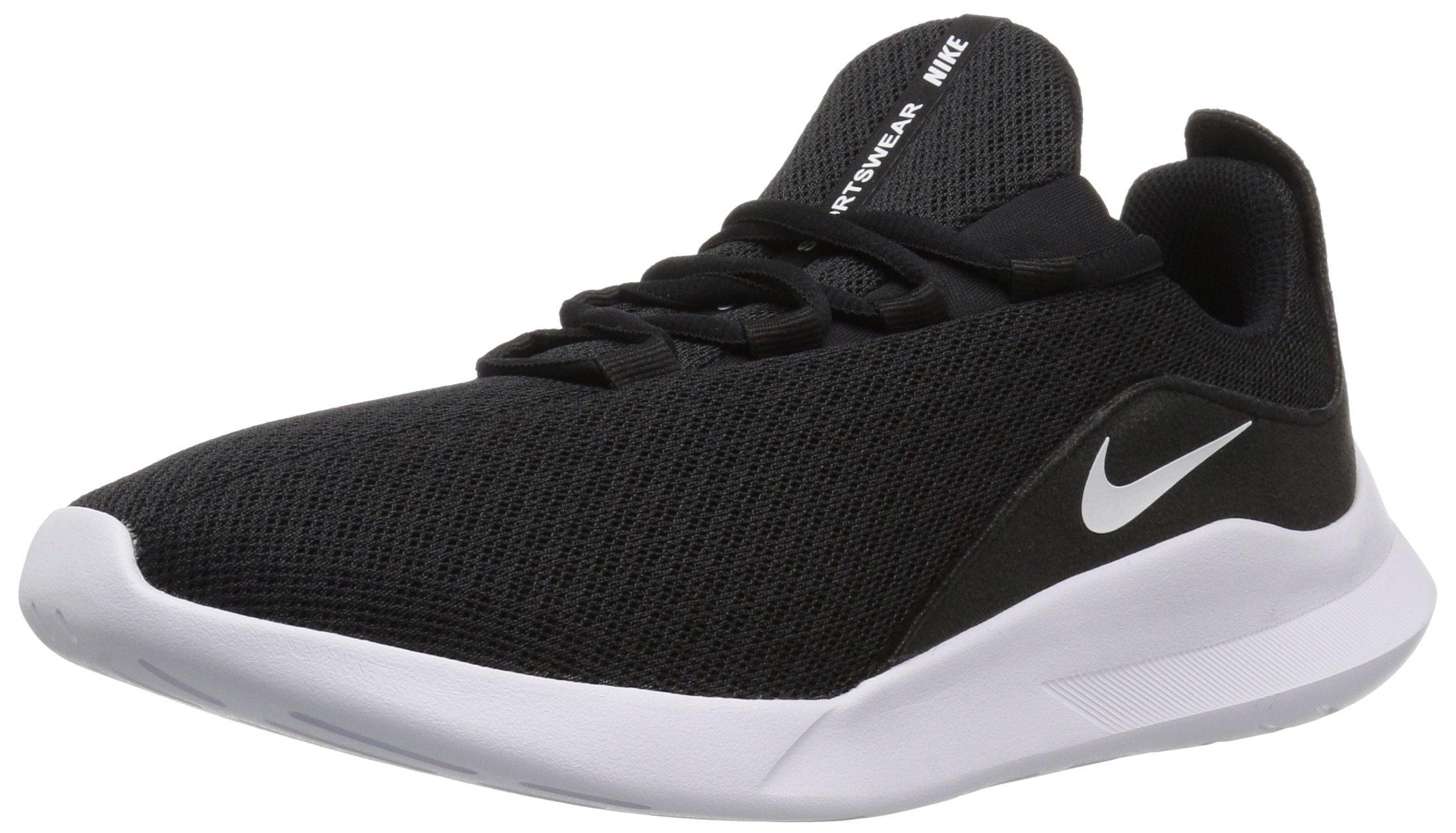 Nike Women's Viale Running Shoe, Black/White, 5 Regular US