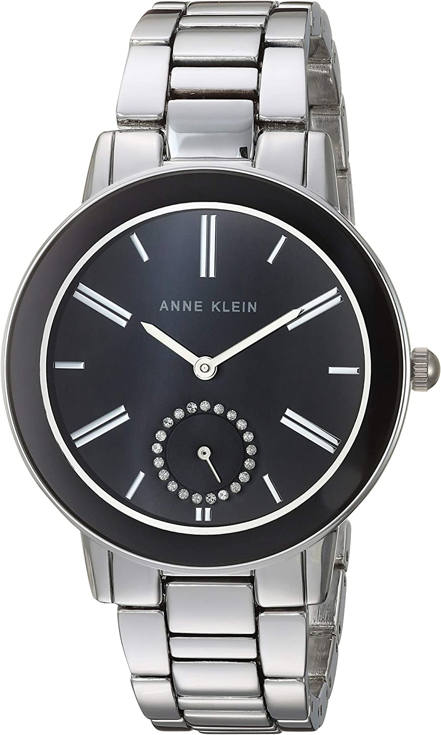 Anne Klein Women's Long-awaited Premium Accented Bracelet Watch Crystal Bombing free shipping