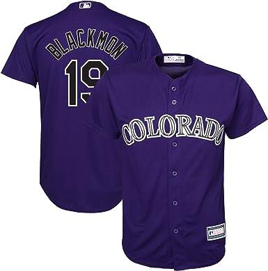 Outerstuff Nolan Arenado Colorado Rockies MLB Boys Youth 8-20 Player Jersey