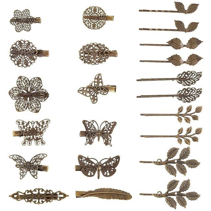 accessory flower hair clip LBF Little Black Flower
