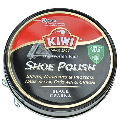 100 2 confezione per ml Kiwi da scarpe Lucido nero colore pfqwXxt0