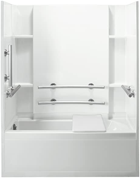 Sterling Plumbing 71150115 0 Accord Bath And Shower Kit 60 Inch X 32