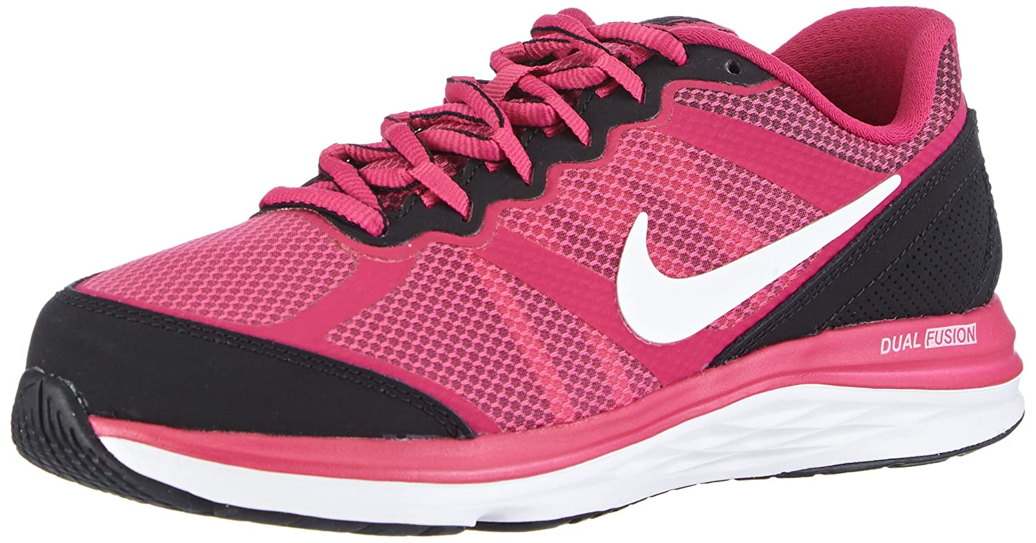 a94eacb0b Amazon.com | Nike Girl's Dual Fusion Run 3 Running Shoe (3.5Y-7Y) | Running