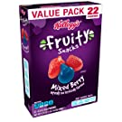 Fruity Snacks, Mixed Berry, Gluten Free, Fat Free, 17.6 oz (22 Pouches)(Pack of 6)