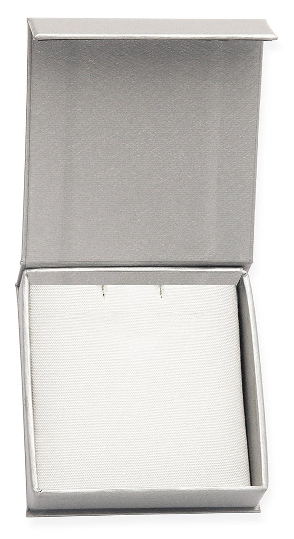 in confeziona regalo 9107 dimensioni: 36 mm x 17 mm Spilla in argento Rennie Mackintosh con design a forma di tulipano