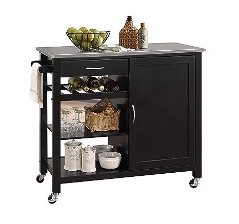 Amazon.com: Acme Furniture – Isla De Cocina De Ottawa ...