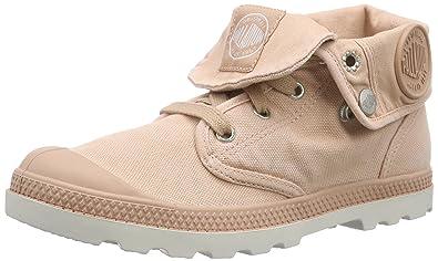 Palladium Baggy, Damen Desert Boots, Pink (Salmon Pink/Silver Birch), 39.5 EU (6 Damen UK)