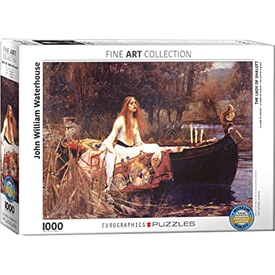 EuroGraphics Lady of Shalott by John William Waterhouse Puzzle (1000-Piece): Toys & Games