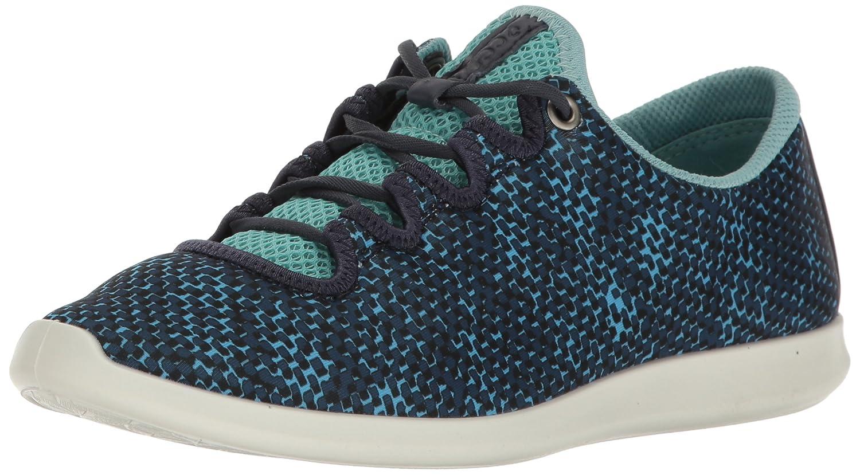 ECCO Women's Women's Sense Sport Fashion Sneaker B01I6EC96E 39 EU/8-8.5 M US|Navy/Aquatic/Marine