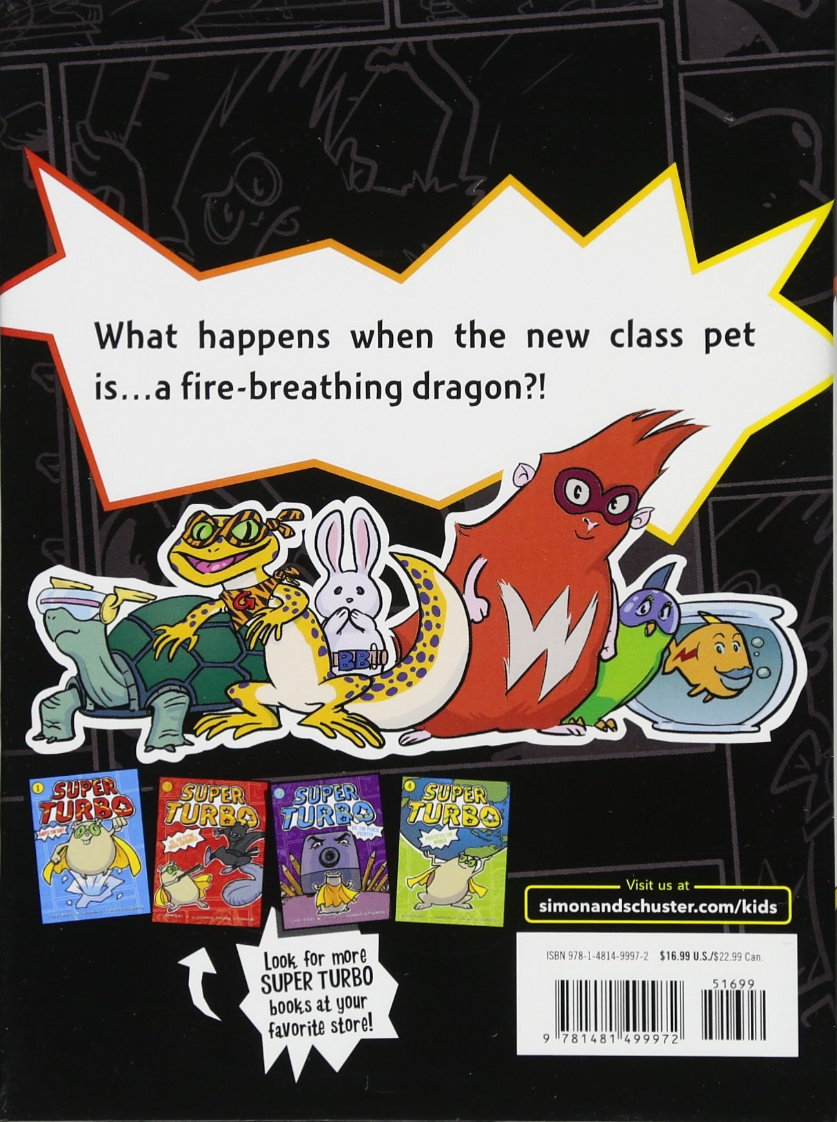 Super Turbo and the Fire-Breathing Dragon: Amazon.es: Lee Kirby, George OConnor: Libros en idiomas extranjeros