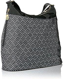 0f9ff151778e Amazon.com: Baggallini Carryall Travel Tote Bag, Black/Sand, One ...