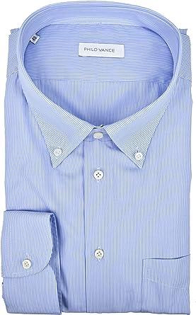 Philo Vance El Hombre de Camisa Celeste pequeñas Rayas ...