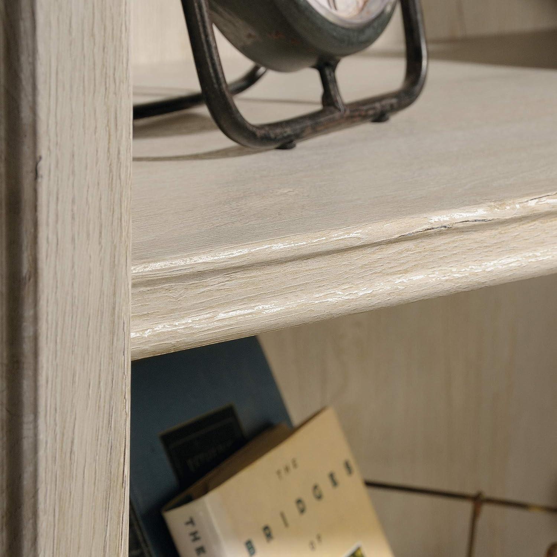 Sauder Costa Library Hutch Chalked Chestnut finish