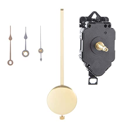 Walnut Hollow Various Pendulum Clock Movement 7-inch for 0 75-inch Surfaces