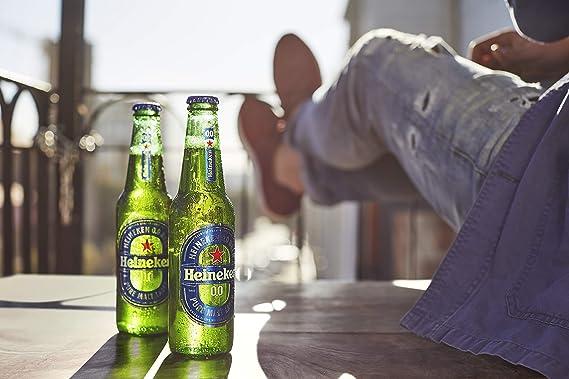 Heineken 00 Cerveza Botella, 6 x 250ml: Amazon.es ...