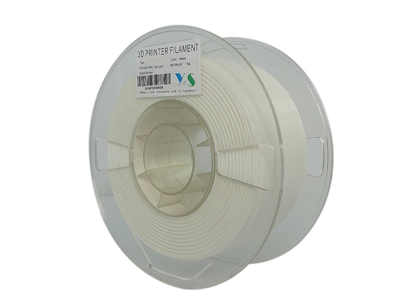 YS tangle-free filamento HIPS para impresoras 3D 1.75mm 1kg se ...