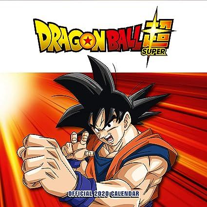 Dragon Ball Z 2020 Calendar - Official Square Wall Format Calendar ...