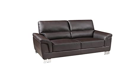 Amazon.com: Gu Industries 9436-brown-sofa Azalea tapizado ...