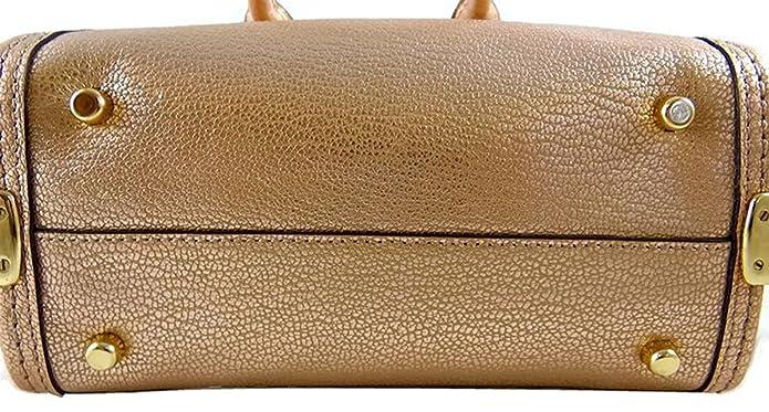 1752c83c657e Coach Swagger 20 Metallic Gold Leather Satchel Crossbody Bag 35990  Handbags   Amazon.com