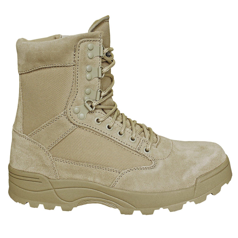 Brandit Boot SWAT Tactical Boot Brandit Zipper Schwarz Sand mit Zipper d021e1