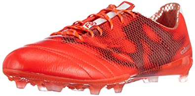 finest selection 87cf9 d84b9 adidas F50 Adizero Firm Ground (Leather), Chaussures de Football Homme,  Rouge (