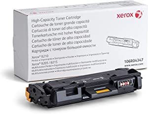 Genuine Xerox Black High Capacity Toner Cartridge (106R04347) - 3000 Pages, for use in Xerox B210 Printer, B205 MFP, B215 MFP