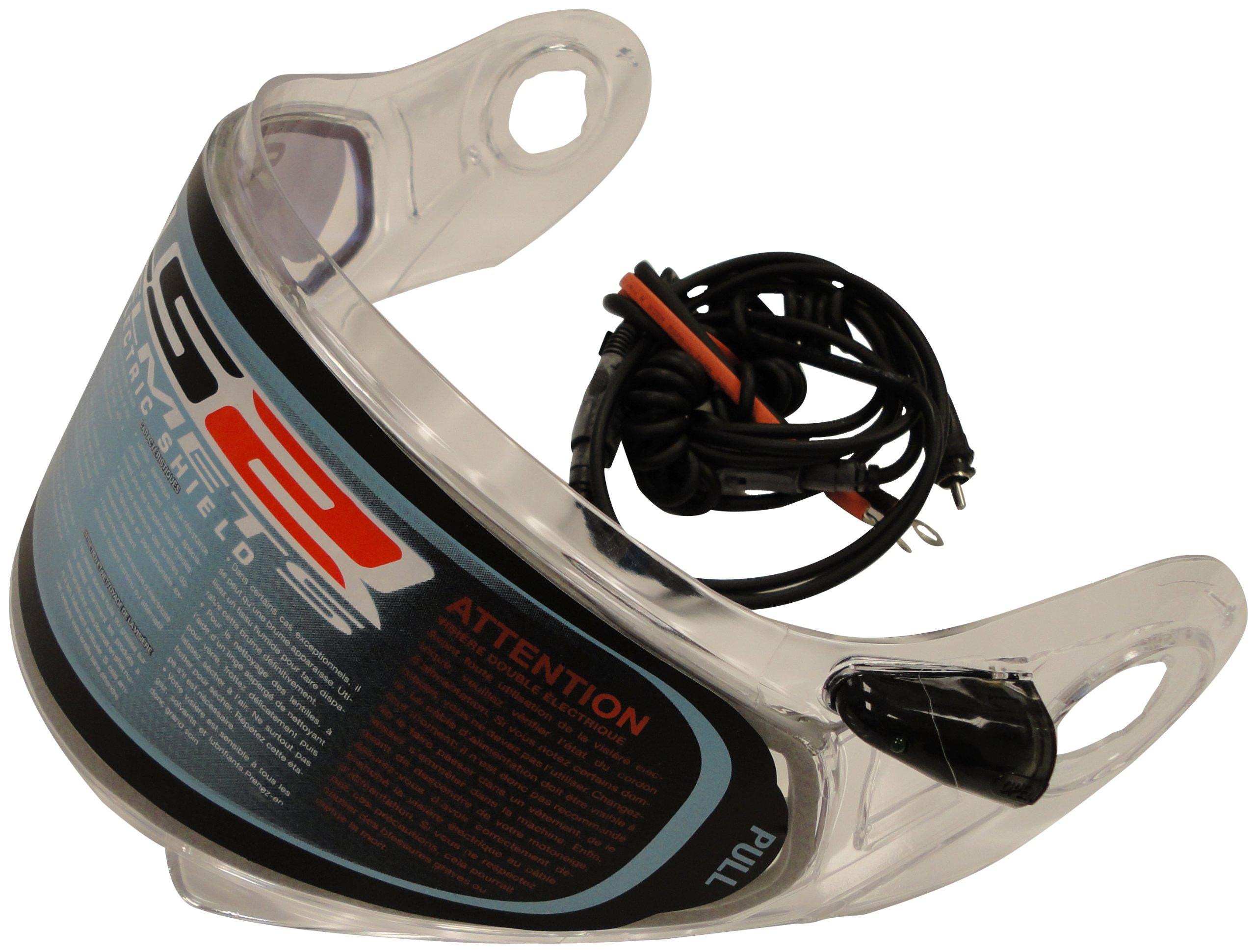 LS2 Helmets Electric Shield for FF386 Helmets (Black)