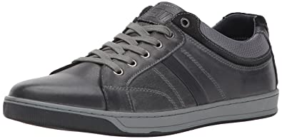 74062058516 Steve Madden Men s Calahan Fashion Sneaker Dark Grey 7 US US Size  Conversion ...