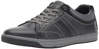 240e37b58b6 Steve Madden Men s Calahan Fashion Sneaker Dark Grey 7 US US Size Conversion  ...