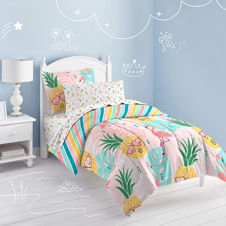 Pink dream FACTORY Pineapple Twin Comforter Set