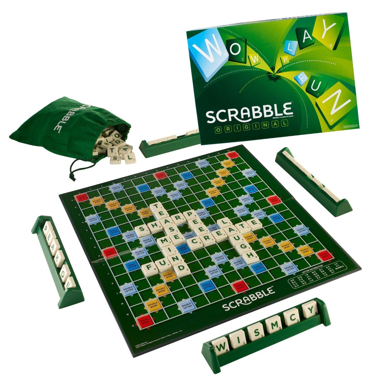 Mattel Scrabble Board Game, Multi Color product image
