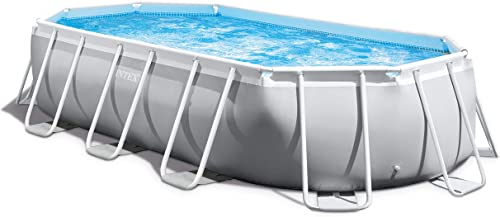 Intex Oval Prism Frame Pool Set 16ft 6 x 9ft x 48 26795EH model