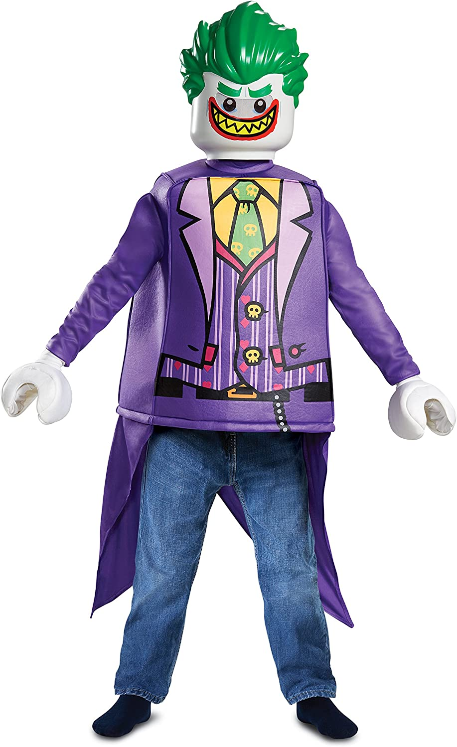 LEGO- Classic Disfraz, Color Joker, Small (66271L): Amazon.es ...
