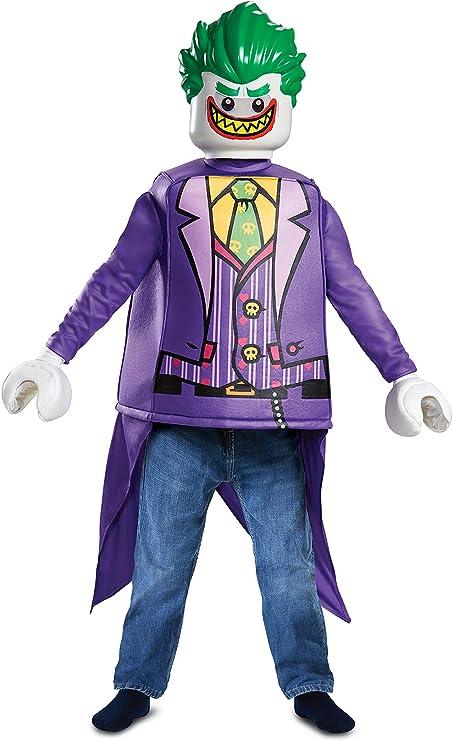 LEGO Batman 66271L-15L Joker - Disfraz clásico: Amazon.es ...