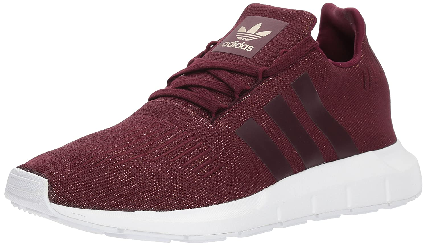 adidas Women's Swift Run W B072BX1H56 8 B(M) US|Maroon/Maroon/White