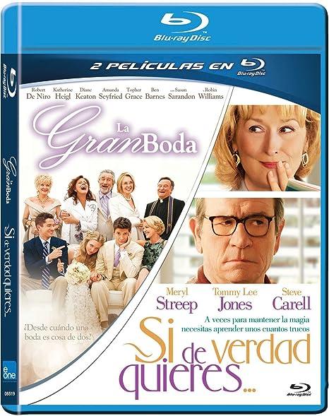 Duo La Gran Boda + Si De Verdad Quieres Bd Blu-ray: Amazon.es: Robert De Niro, Meryl Streep, Justin Zackham, David Frankel, Robert De Niro, Meryl Streep, Justin Zackham, Todd Black: Cine y