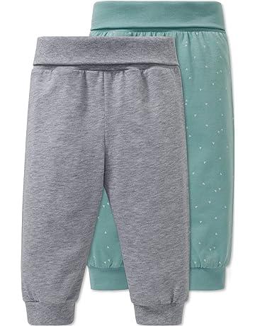 Schiesser 2pack Baby Hosen Lang, Pantalones de Pijama Unisex bebé, (Sortiert 1 901