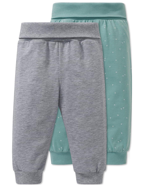 Schiesser Baby-Jungen Schlafanzughose, 2er Pack 163461