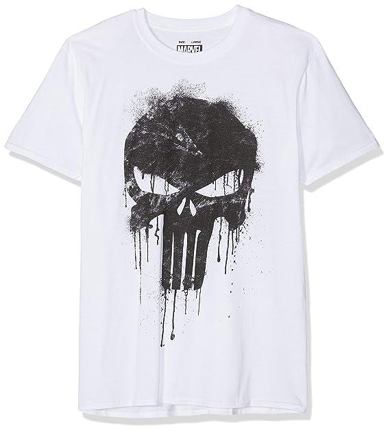 e265e2ce6d0 Marvel Avengers Punisher Skull Camiseta para Hombre: Amazon.es: Ropa y  accesorios