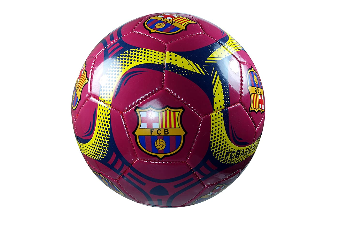 FC Barcelona Authentic Official Licensedサッカーボールサイズ5 – 01 – 8 B076V6HQB1