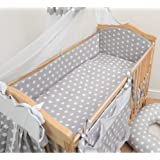 Nursery Baby Cot Bed Bumper / Pad 140x70 / 420cm Long All Round Bumper - Pattern 14