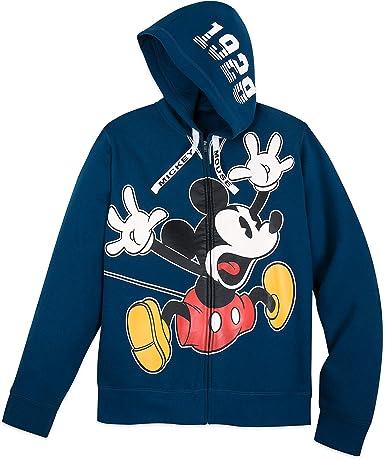 Disney Mickey Mouse Sudadera con Capucha y Cremallera para Hombre ...