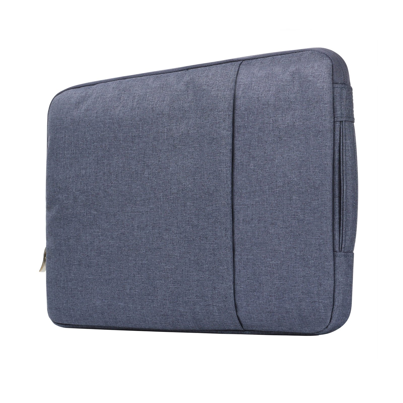 Macbook Air 13'' Travel Bag,Macbook Pro 13'' 2016 Sleeve Case,Anrain Laptop Protective Bag Pouch for MacBook Pro 13.3'' Retina Macbook Air 11'' 13'' 12.9'' iPad Pro Acer Dell HP Chromebook,Denim Blue