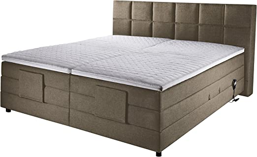 Muebles cama de alegría con somier Bea, acolchada, núcleo ...