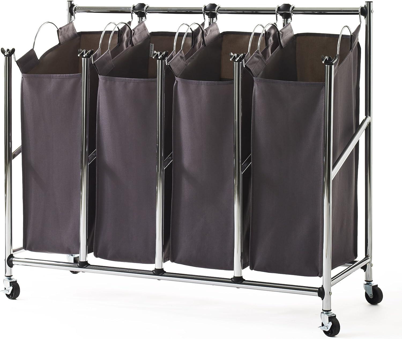 neatfreak Front Load Quad Laundry Sorter